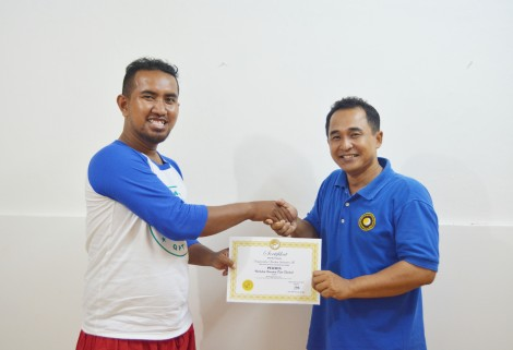 Selamat buat Mas Raymundus karena telah selesai mengikuti Workshop Quantum Pijat Thailand Level 2